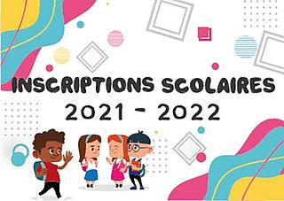 inscription ecole 2021 2022