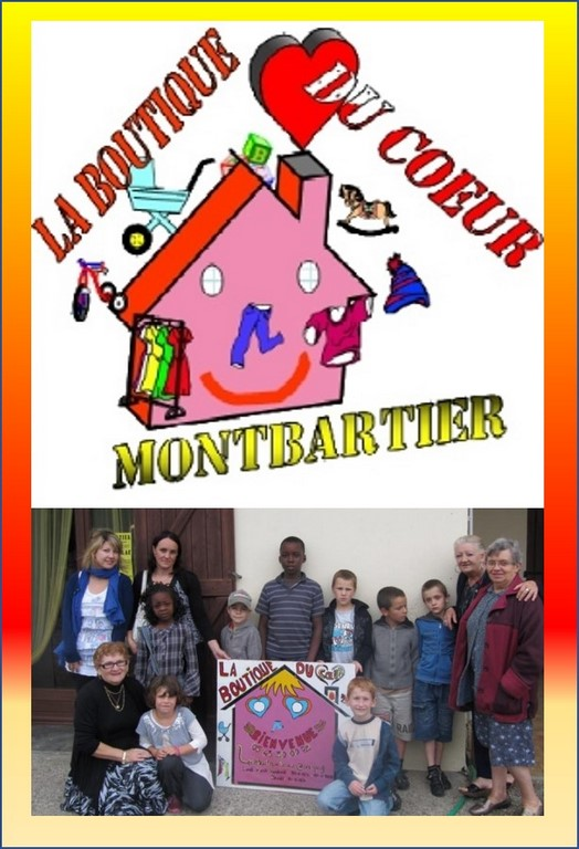 La boutique du coeur Association Montbartier